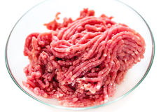 Chopped meat. Royalty Free Stock Photo