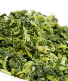 Chopped mustard greens Royalty Free Stock Photography