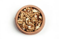 Chopped nuts Royalty Free Stock Photos