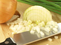 Chopped onion Royalty Free Stock Photo
