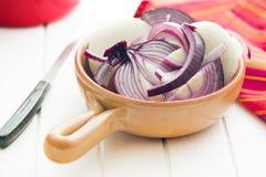Chopped onion Stock Photography