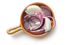 Chopped onion Stock Images