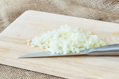 Chopped onions Stock Images