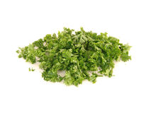Chopped parsley Stock Images
