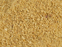 Chopped Peanuts. Backgrounds prepare for mix with sticky cane sugar Royalty Free Stock Photos