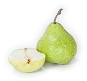 A chopped pear Stock Photo