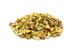 Chopped pistachio nuts Royalty Free Stock Photography
