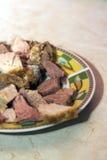 Chopped pork shoulder meat Stock Photos