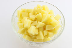 Chopped potato Royalty Free Stock Photo