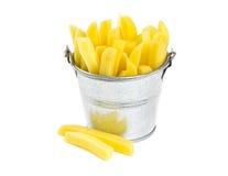 Chopped potato Stock Image