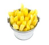 Chopped potato Stock Photography