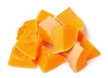 Chopped pumpkin royalty free stock photo