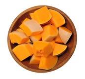 Chopped pumpkin Stock Photo