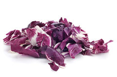 Chopped radicchio leaves Stock Photography