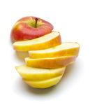 Chopped red apple Royalty Free Stock Photos