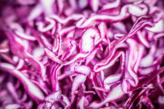 Chopped red cabbage Royalty Free Stock Photography
