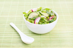 Chopped salad with goat cheese Royalty Free Stock Images