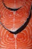 Chopped salmon fillets Royalty Free Stock Photo