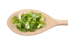 Chopped scallion Royalty Free Stock Photo
