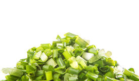 Chopped Scallions Close Up View IX Stock Image