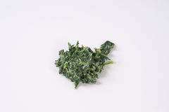 Chopped spinach with cream Stock Photo