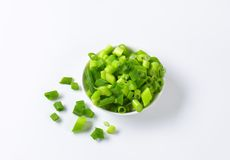 Free Chopped Spring Onions Stock Image - 50964291