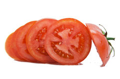 A Chopped Tomato stock photography