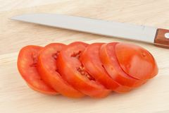 Chopped tomato Royalty Free Stock Photo