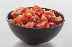 Chopped tomato Royalty Free Stock Image