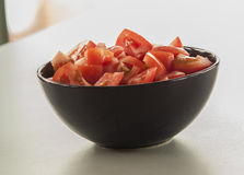 Chopped tomato Royalty Free Stock Photo