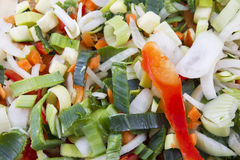 Free Chopped Vegetables Stock Photo - 16520380