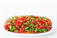 Chopped vegetables Royalty Free Stock Photos