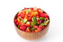 Chopped vegetables Stock Photos