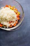 Chopped Veggies Royalty Free Stock Images