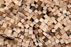 Chopped wood for the fireplace Royalty Free Stock Image