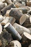 Chopped wood Stock Images