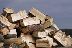Chopped wood Royalty Free Stock Photo