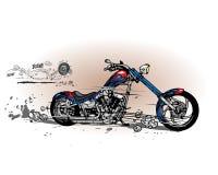 Chopper. Additional  format Illustrator 8 eps Royalty Free Stock Photo