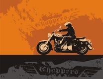 Chopper stock illustration