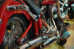 Chopper. The motorcycle for touring we call chopper Royalty Free Stock Photo