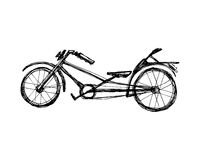 Chopper Bicycle Illustrazione Vettoriale