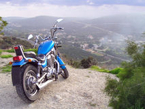 Chopper Bike royalty free stock photo