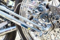 Chopper bike brakes Stock Photography