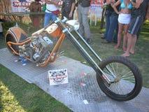 Chopper bike Stock Photos