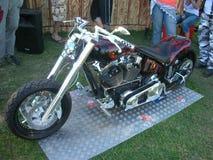 Chopper bike Royalty Free Stock Photography