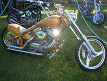 Chopper bike Royalty Free Stock Photos