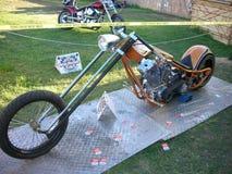Chopper bike Royalty Free Stock Image