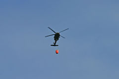 Chopper carrying water stock images
