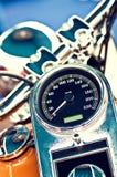Chopper Classic Bike Speedometer Stock Photography