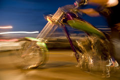 Chopper with Motion Royalty Free Stock Photo